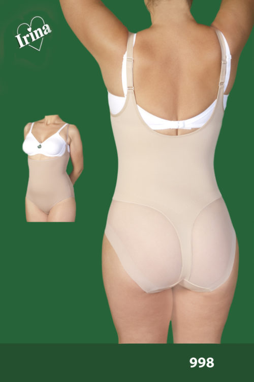 Body sin sujetador efecto tanga modelo 998 Irina