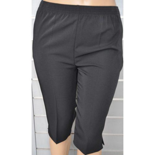 Pantalón pirata bioelastico con cintura de goma y 2 bolsillos