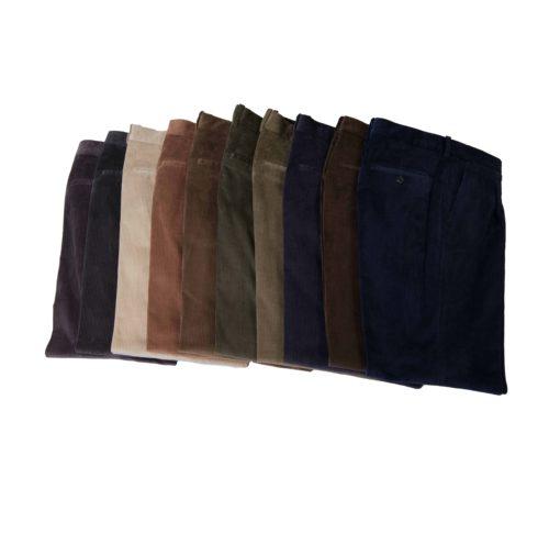 Pantalón de pana 1 pinza look casual serie pisa BLAPER