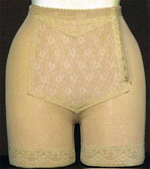 Faja panty abierta peto blonda modelo 400 SORAS