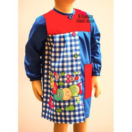 Babi escolar para niños y niñas modelo R-gusano BATPIL