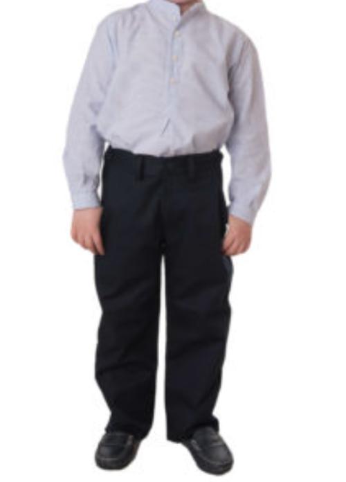 Pantalón de vestir negro para niños modelo serie 15