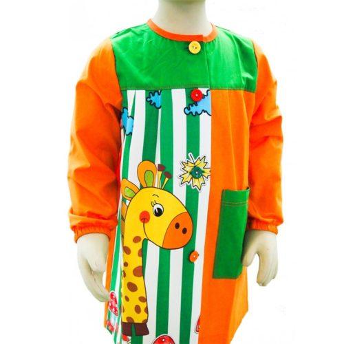 Babi escolar para niñas y niños modelo R-Jirafa de BATPIL