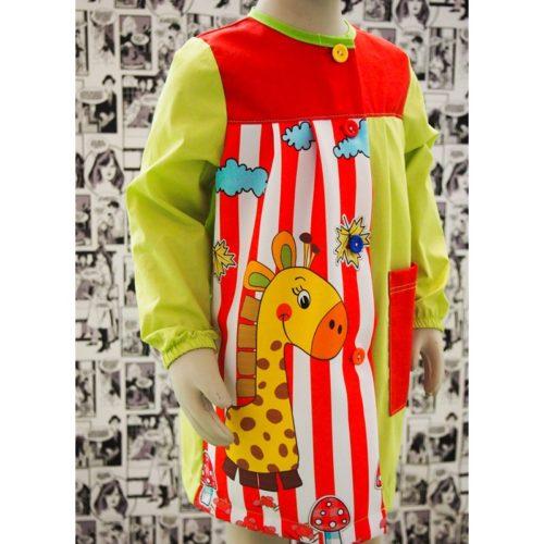 Babi escolar para niñas y niños modelo R- Jirafa BATPIL