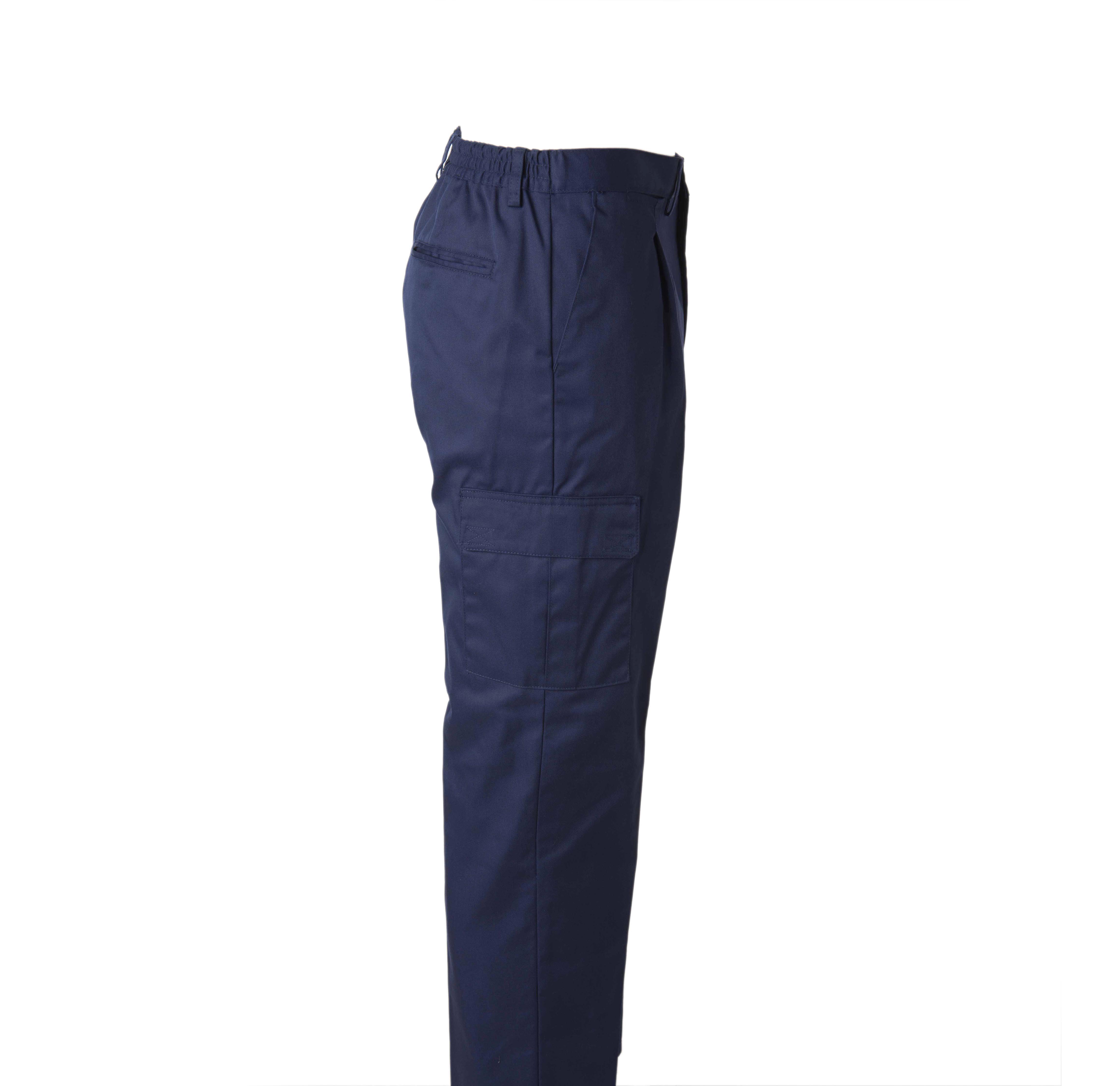 Pantalon Laboral Tka Extra Multibolsillos Con Elastico Trasero