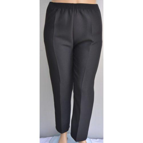 Pantalon Mujer Con Elastico En La Cintura Y 2 Bolsillos