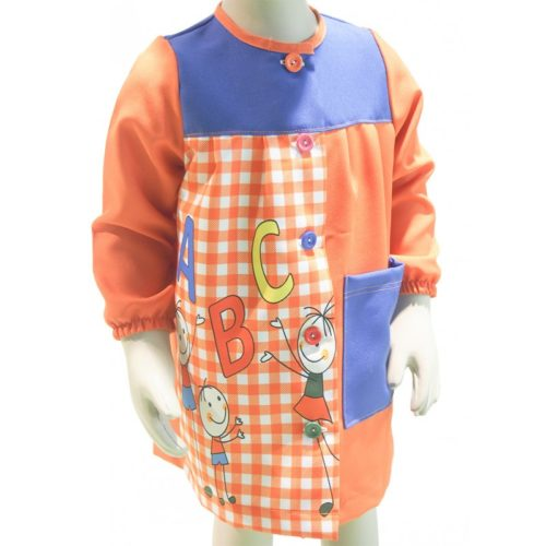 Babi escolar para niñas y niños modelo R-575 BATPIL