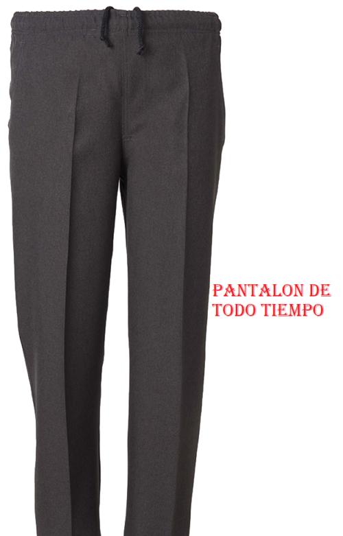 PANTALÓN VESTIR CON ELÁSTICO EN CINTURA QUIM 31401 BLAPER DE TODO TIEMPO