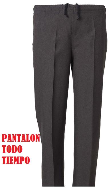 PANTALÓN VESTIR CON ELÁSTICO EN CINTURA QUIM 31401 BLAPER