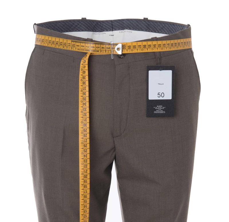 Como Calcular Talla Espanola Pantalon De Hombre