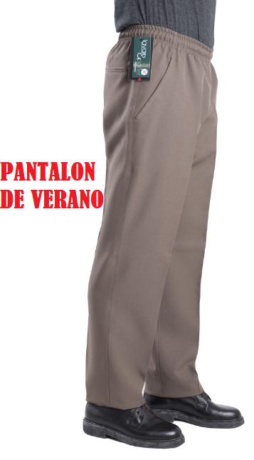 PANTALÓN VESTIR ELÁSTICO EN CINTURA QUIM TEX BLAPER.