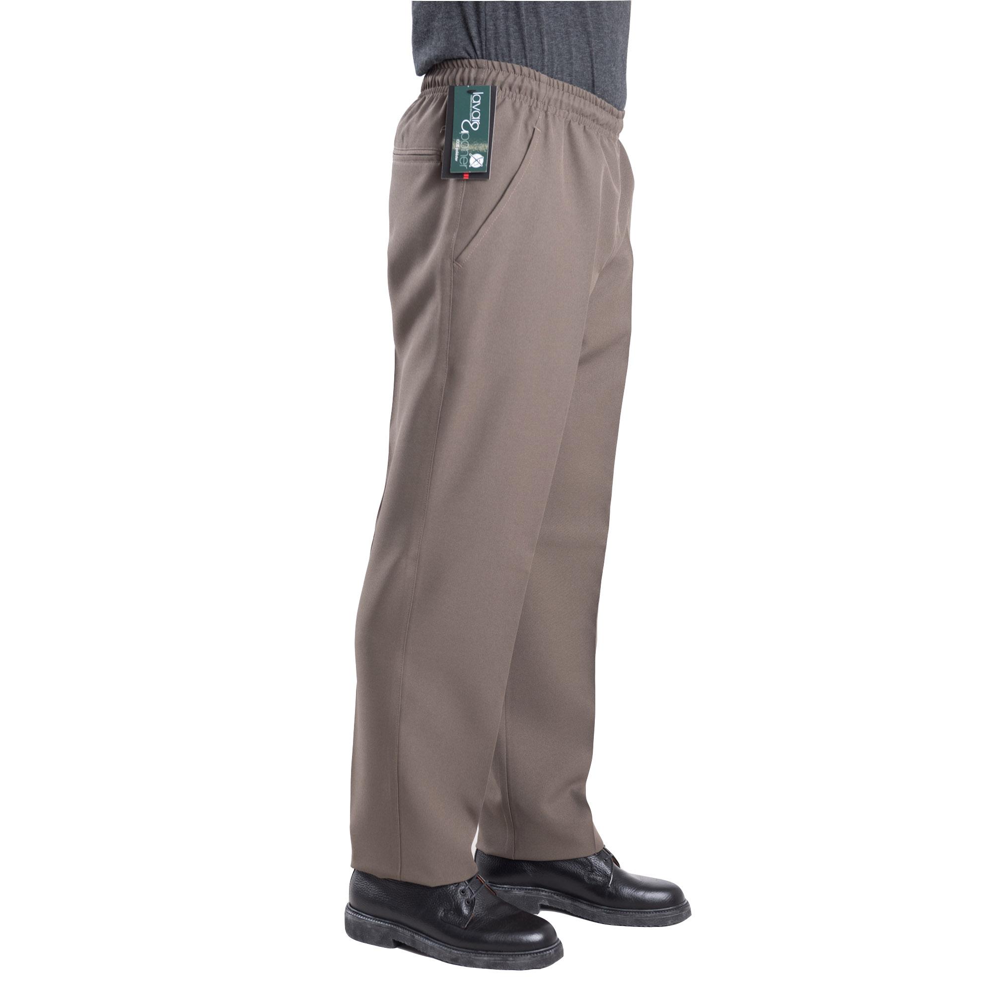 Pantalón Vestir Elástico En Cintura Quim Tex Blaper