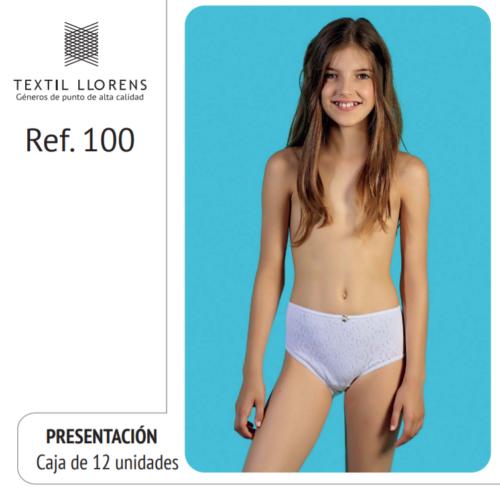 BRAGA NIÑA ALGODÓN TRANSFERENCIA REF 100 TEXTIL LLORENS