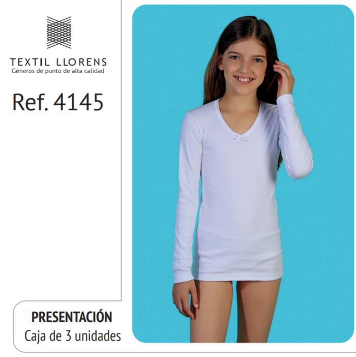 CAMISETA ALGODON MANGA LARGA REF 4145