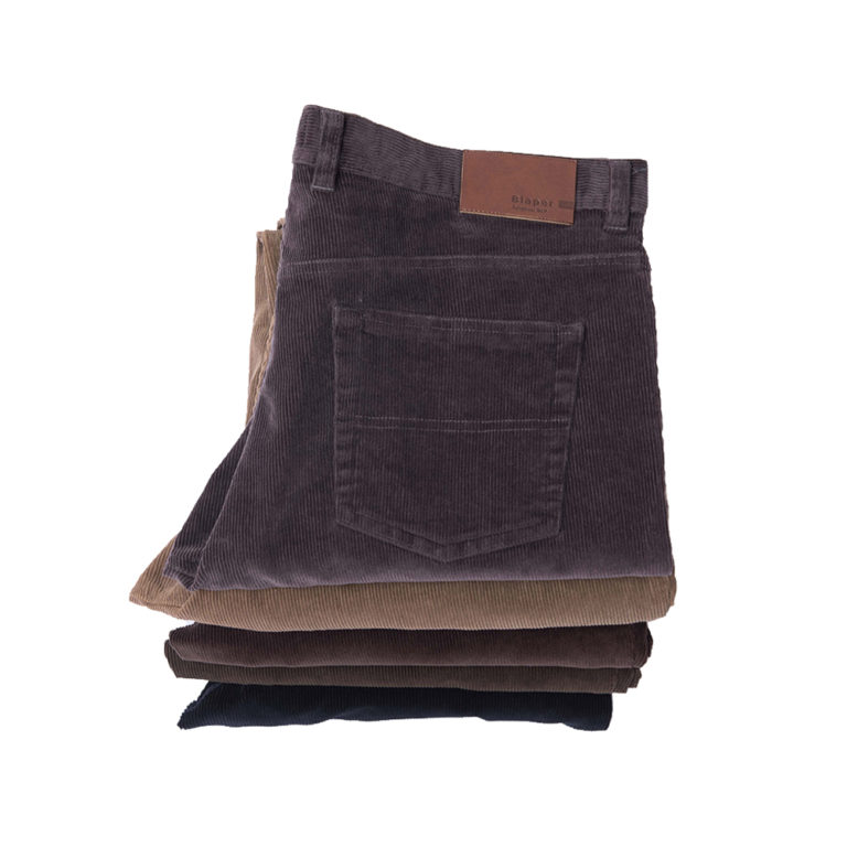 Pantalon Pana Elastica 5 Bolsillos Marca Blaper