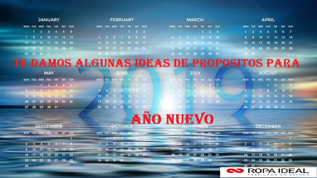 TE DAMOS ALGUNAS IDEAS DE PROPOSITOS PARA AÑO NUEVO