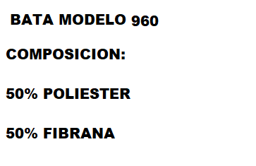 BATA PUNTO SEÑORA DE INVIERNO MODELO 960 SAPERTEX