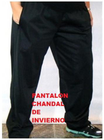 PANTALÓN CHÁNDAL PERCHADO MODELO 2000 MARCA SGR3