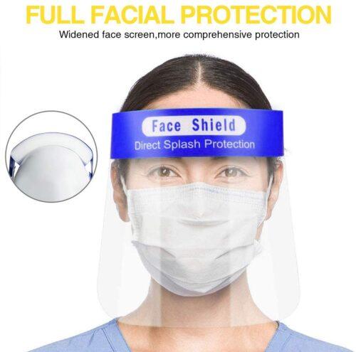 VISERAS DE PROTECCIÓN FACIAL ANTIEMPAÑAMIENTO - FACE -SHIELD