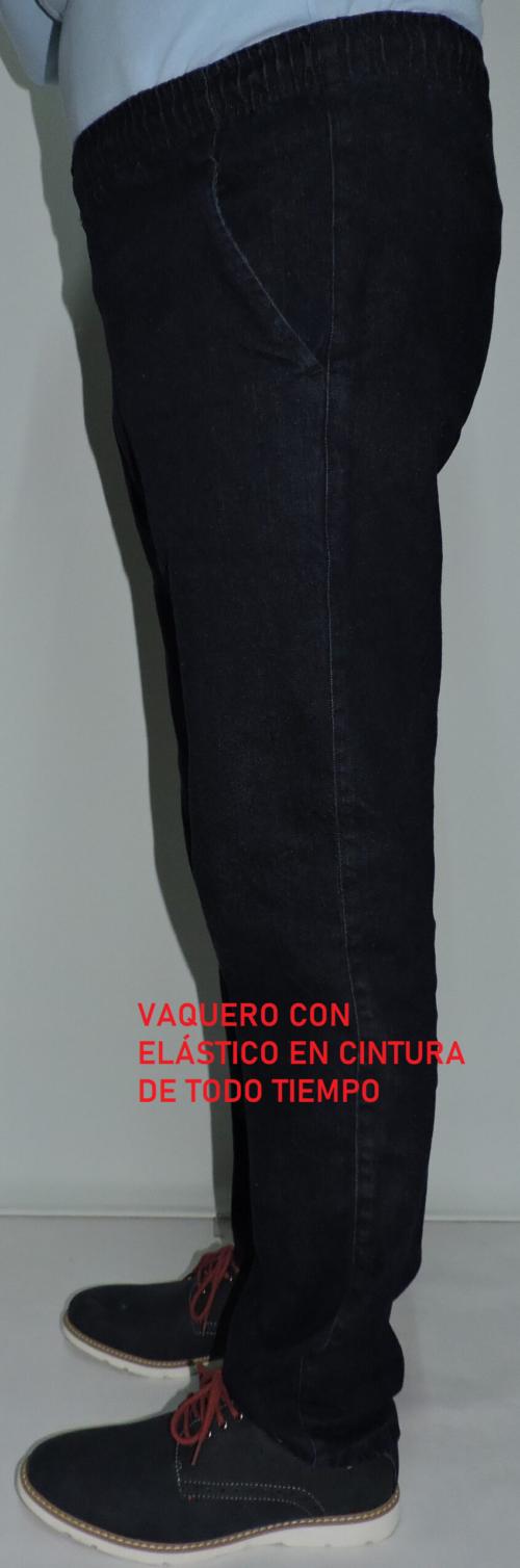 VAQUERO CON ELÁSTICO EN CINTURA QUIM DAVIS