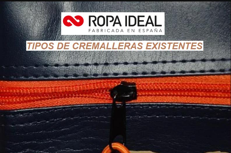 TIPOS DE CREMALLERAS EXISTENTES